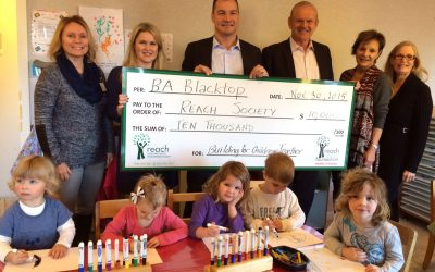 Ba Blacktop Donates $10,000 To Reach