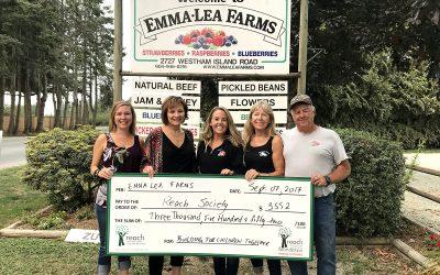 Emma Lea Farms Canada Day Fundraisers Total $14,000