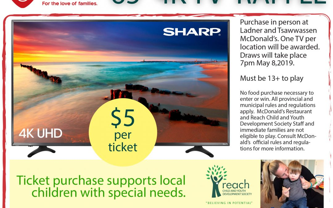 McHappy Day TV Raffle 2019